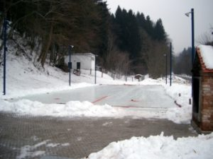 Stockbahn Winter